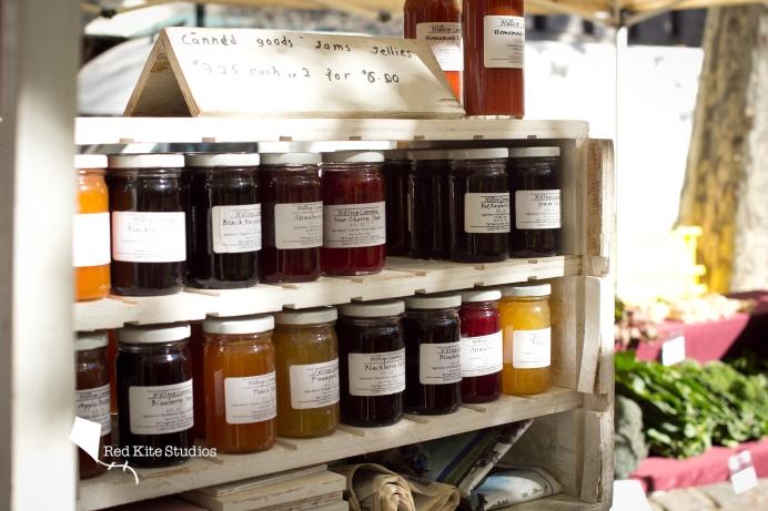 Farmers' market jams, Philadelphia